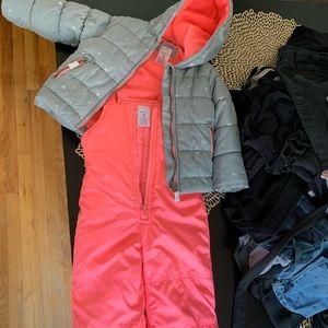 18M 2-piece snow suit.